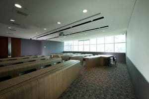 seating area of T32 Dental Academy