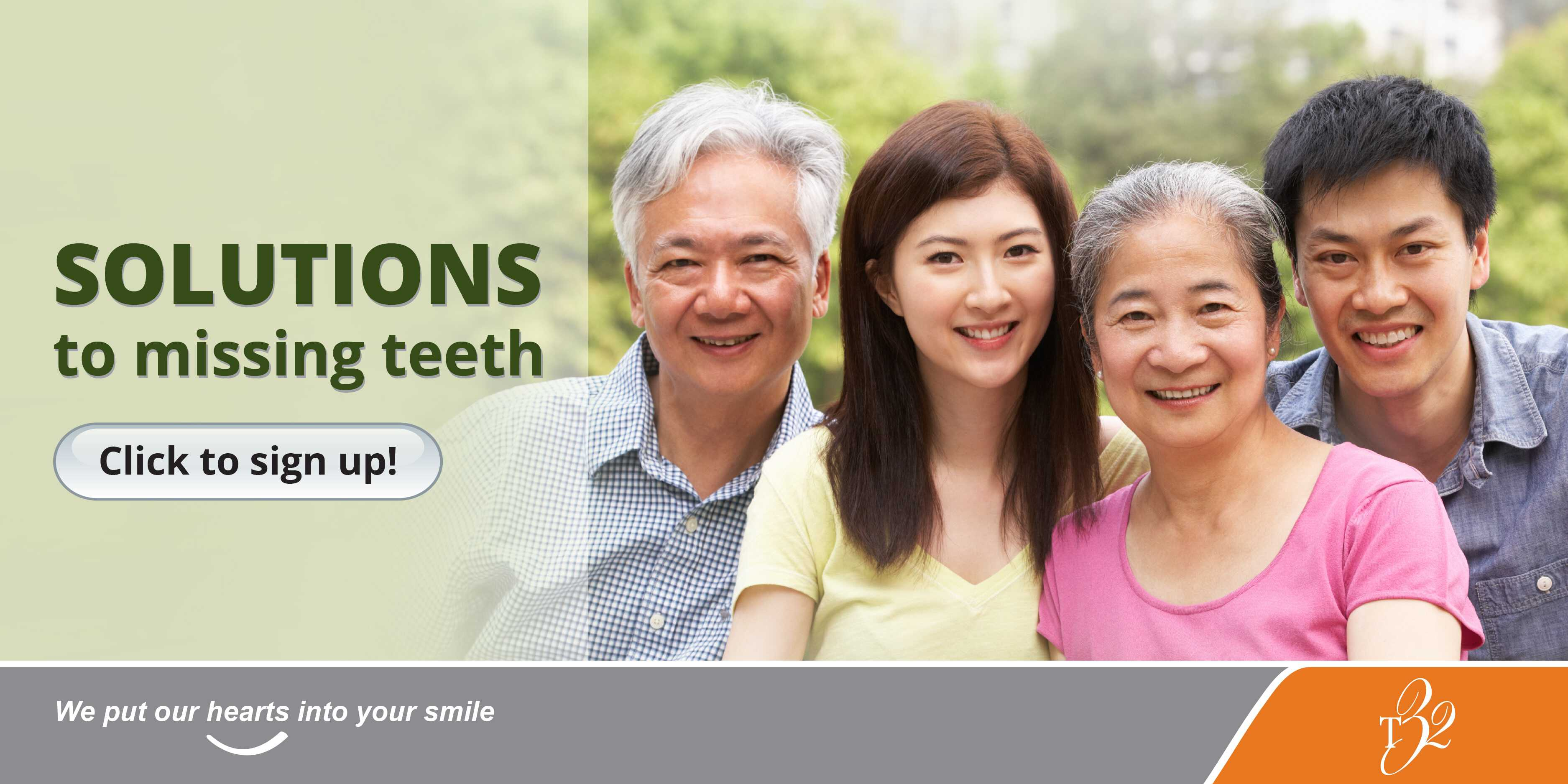 T32Dental Events Bedok Library Talk May 4 2018 Solutions to Missing Teeth